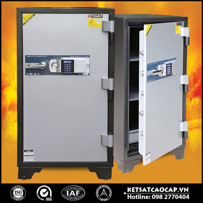 Két Sắt Chống Cháy LX1200- E Silver