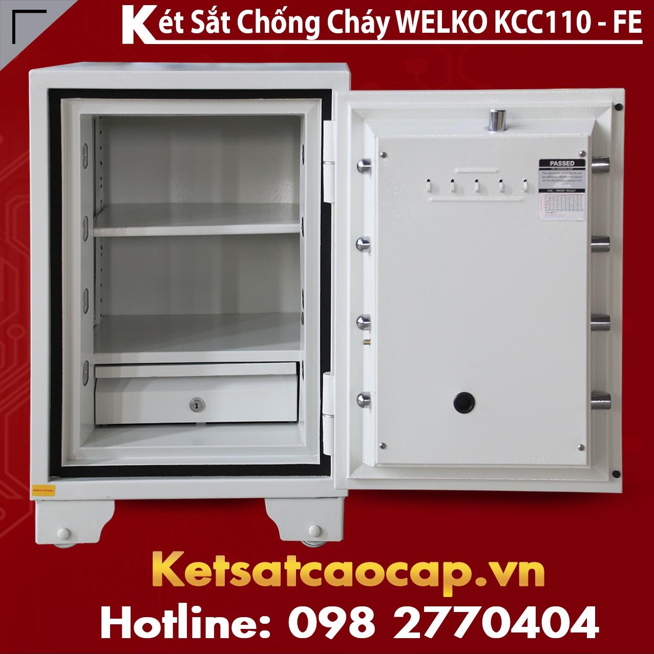 Két Sắt Tổng Thống KCC110 FE - White