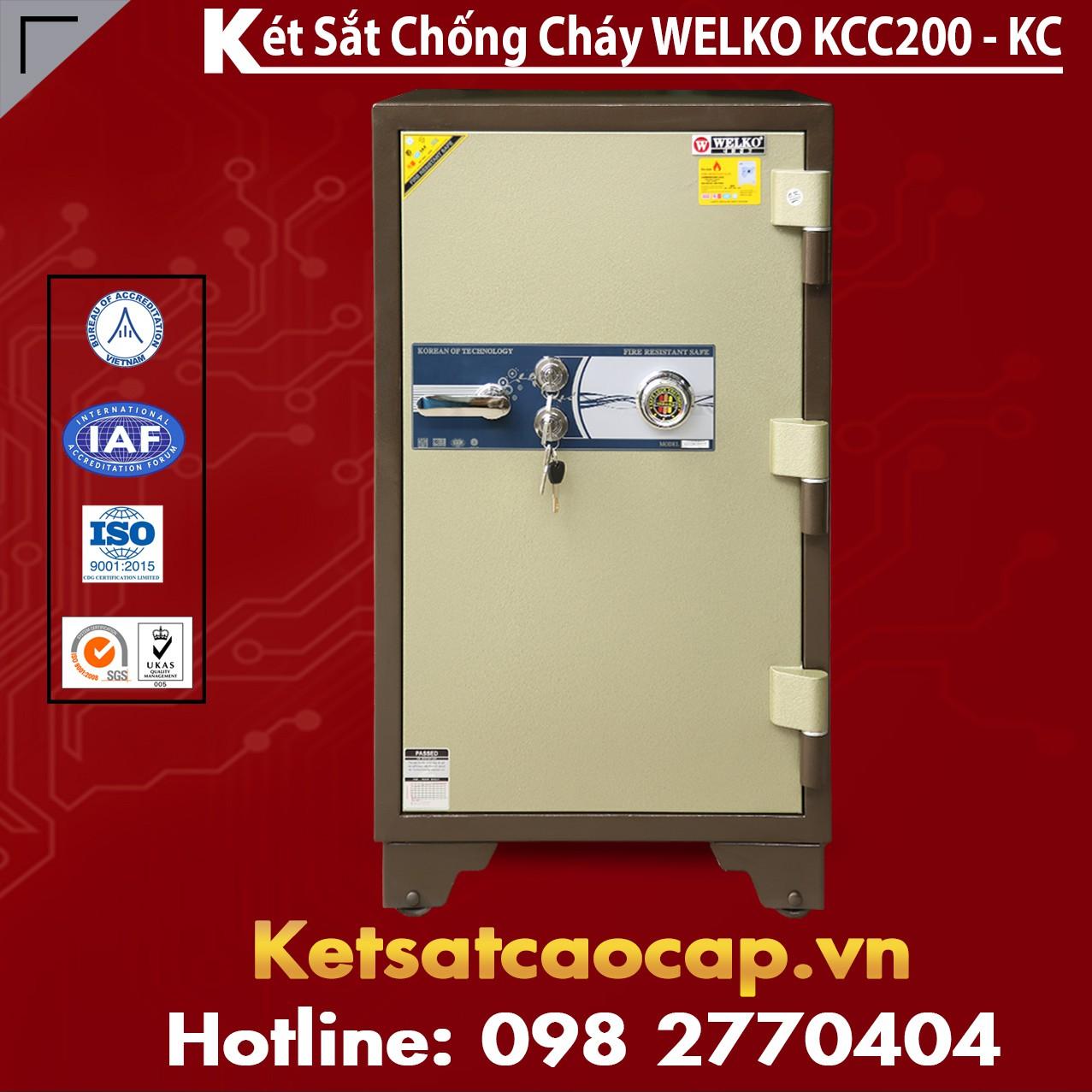 Két Sắt Mini Hàn Quốc KCC200 - KC