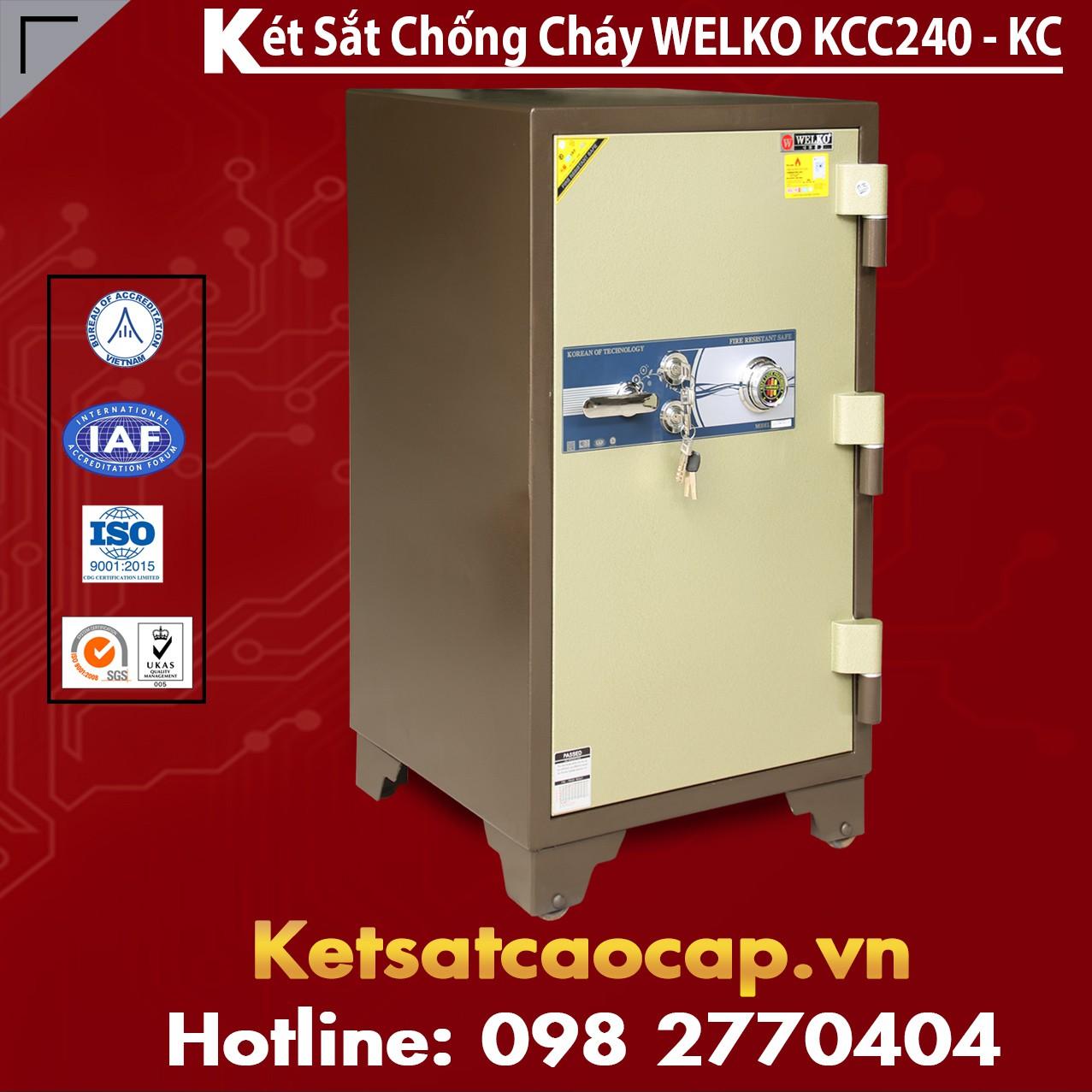 Két Sắt Mini Hàn Quốc KCC240- KC