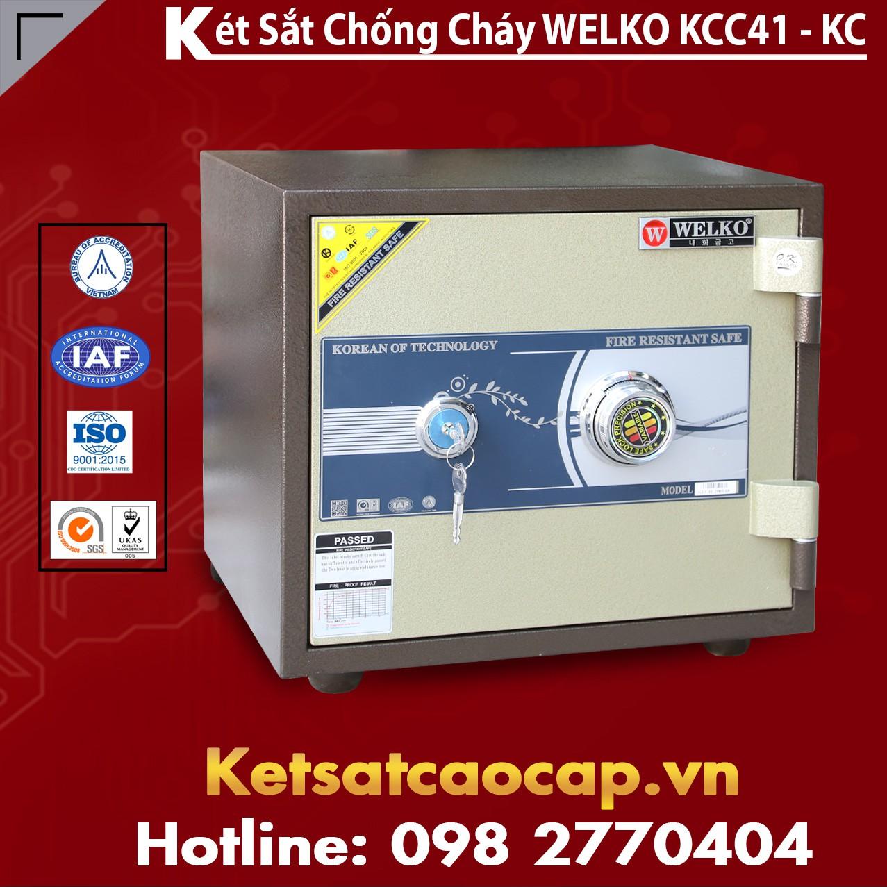 Két Sắt Mini Hàn Quốc KCC41 - KC