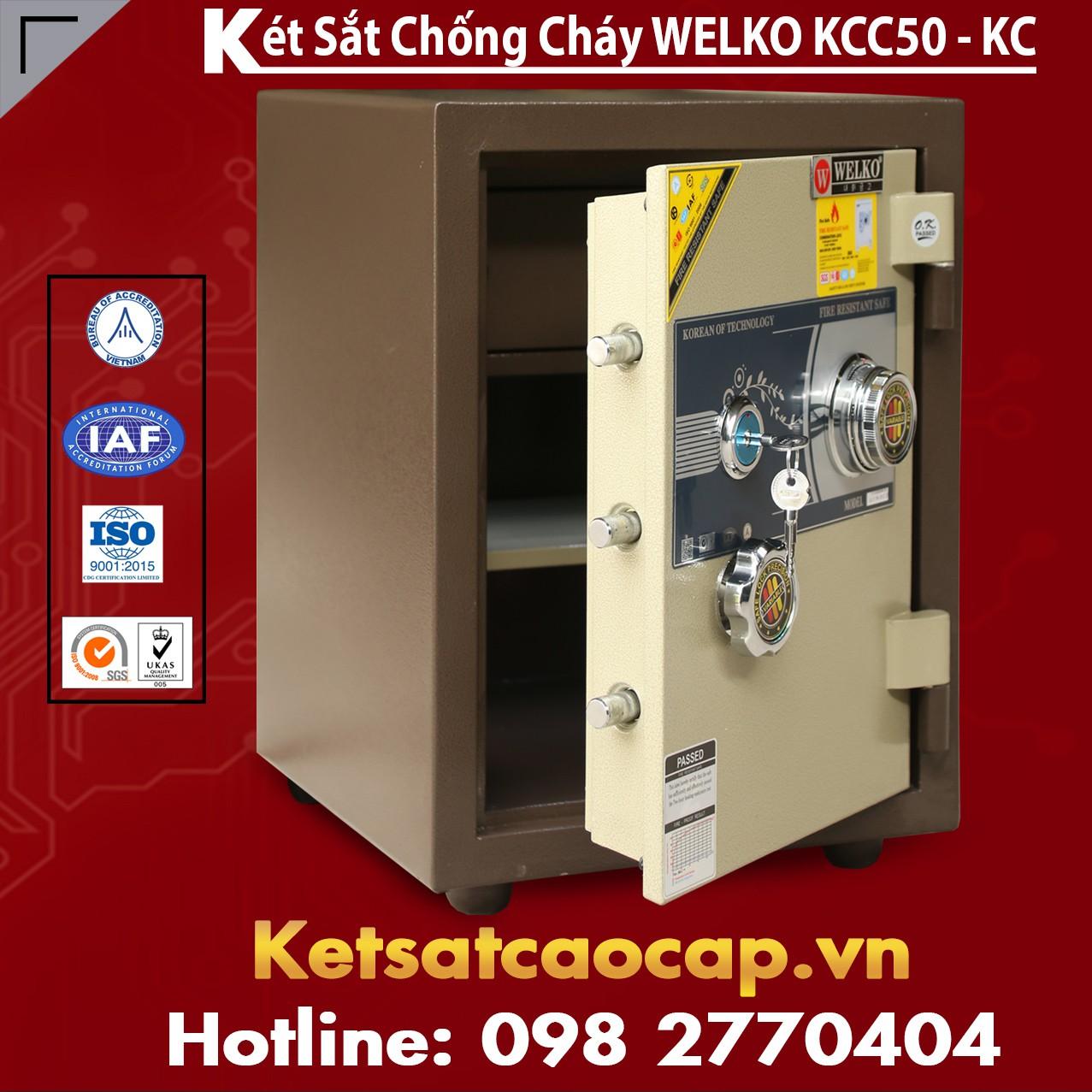 Két Sắt Mini Hàn Quốc KCC50 - KC