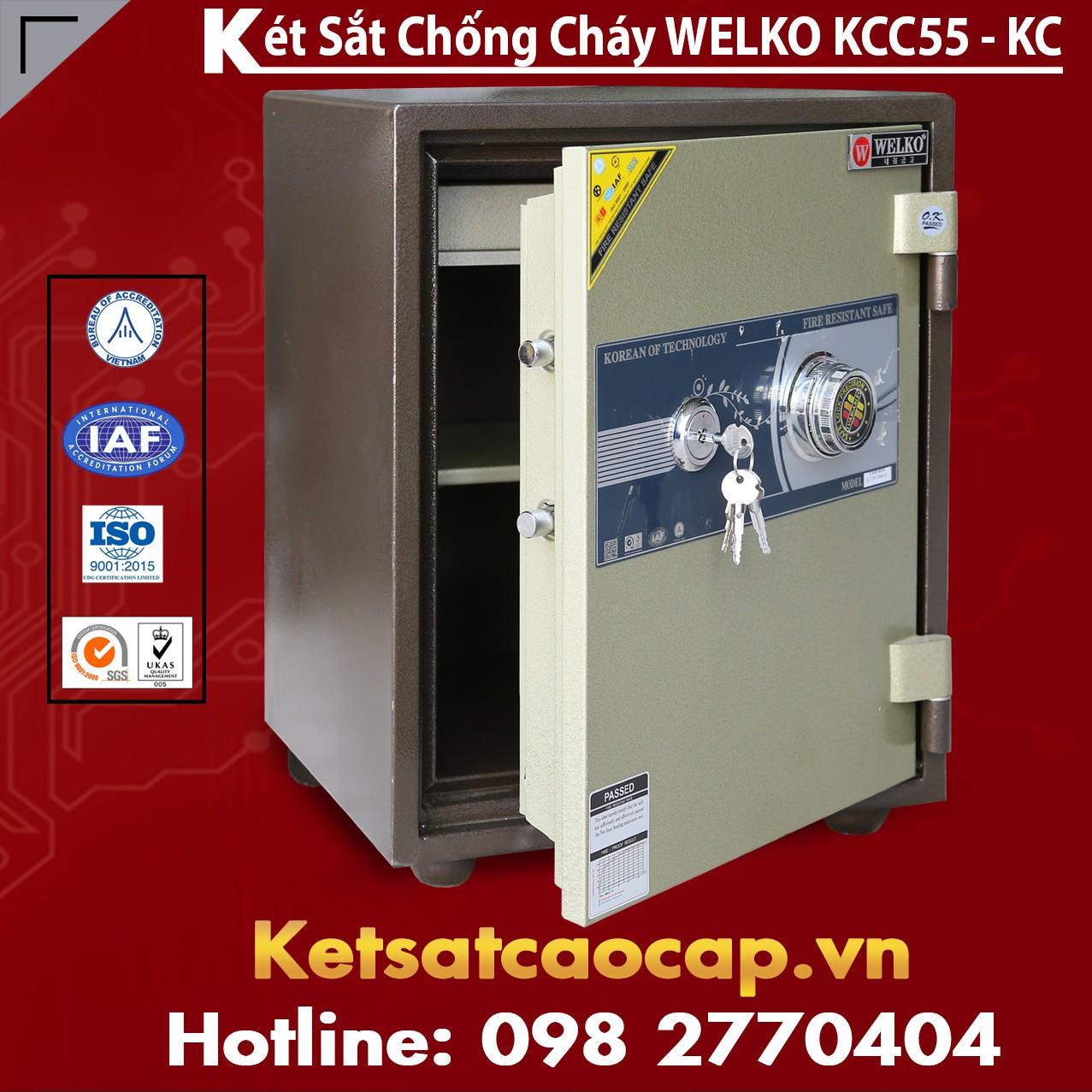 Két Sắt Mini Hàn Quốc KCC55 - KC