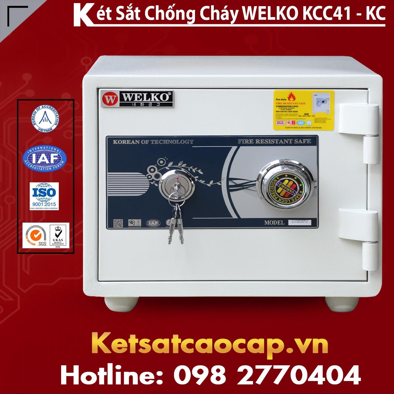 Mua Két Sắt KCC41 White - KC