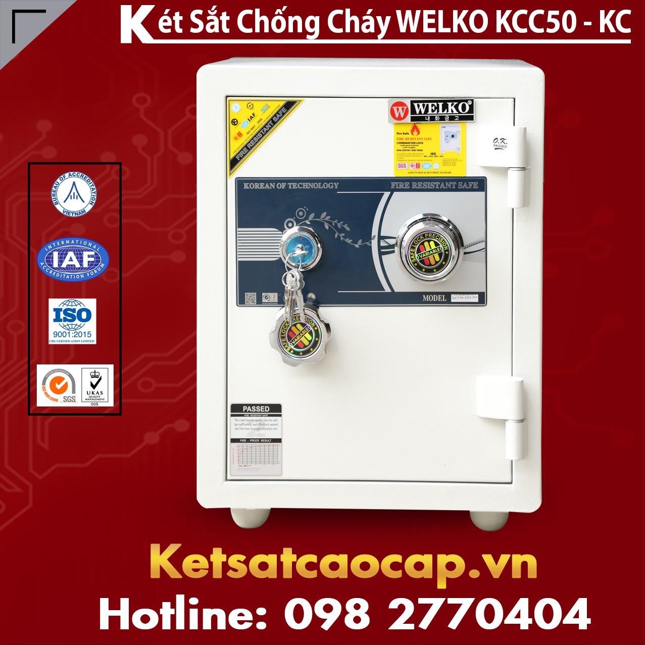 Mua Két Sắt KCC50 White - KC