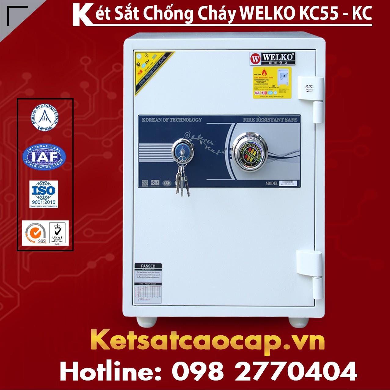 Mua Két Sắt KCC55 White - KC
