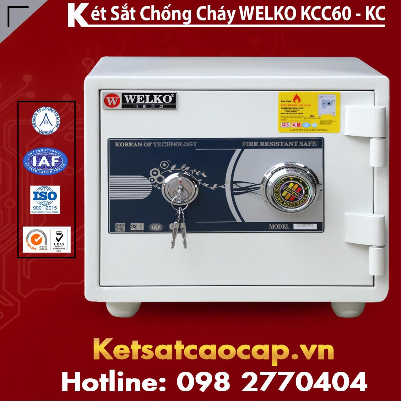 Mua Két Sắt KCC60 White - KC