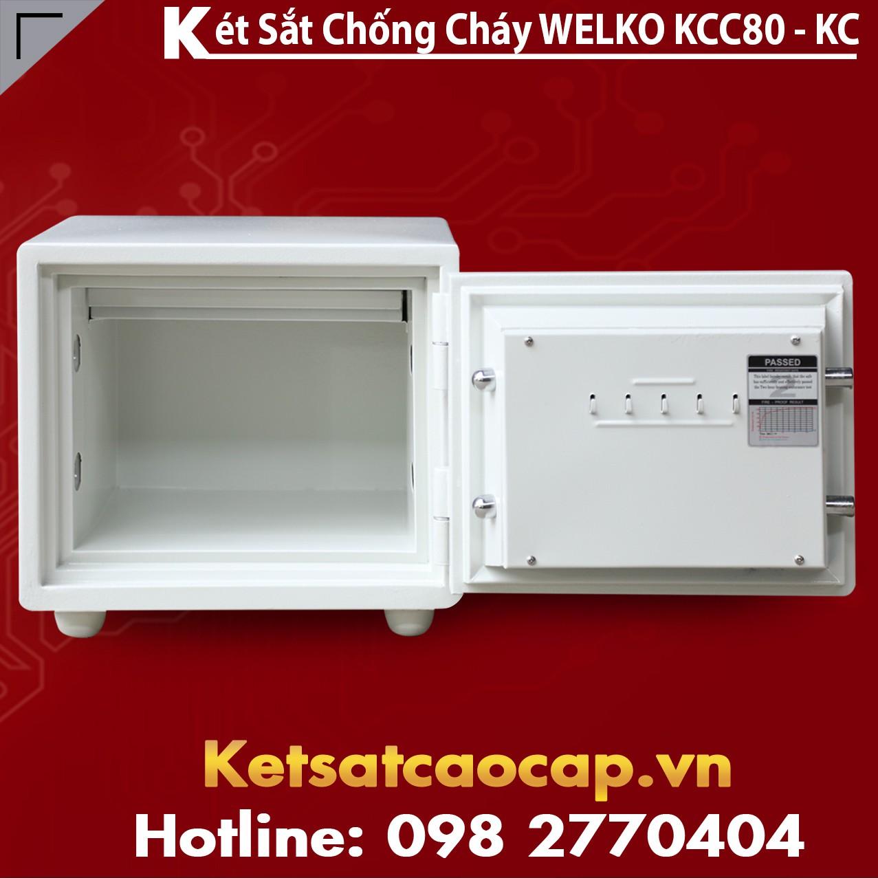 Mua Két Sắt KCC80 White - KC