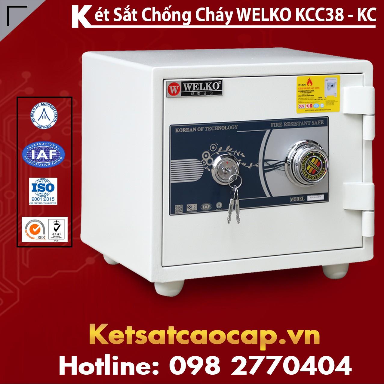 Mua Két Sắt KCC38 White - KC
