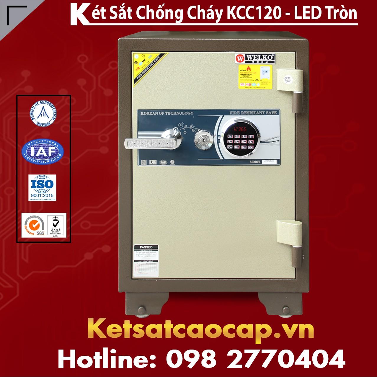 Két Sắt Bình Dương WELKO KCC120 - LED