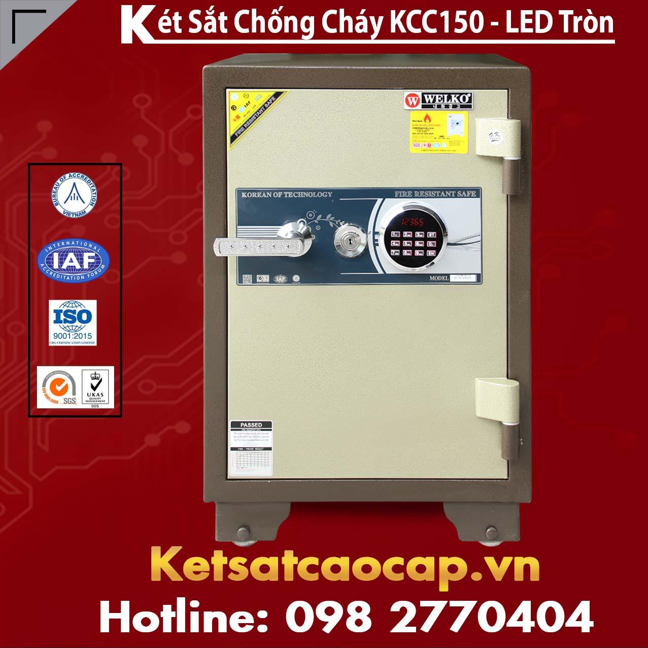 Két Sắt Bình Dương WELKO KCC150 - LED