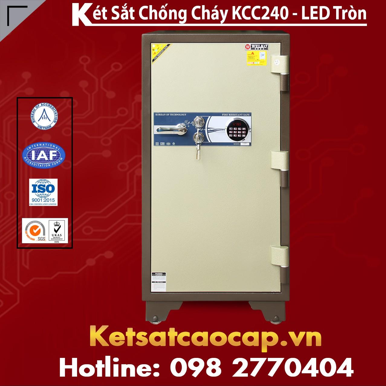 Két Sắt Bình Dương WELKO KCC240 - LED
