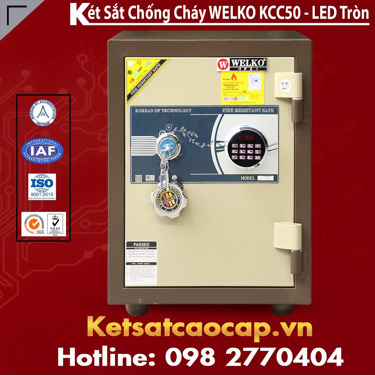 Két Sắt Bình Dương WELKO KCC50 - LED