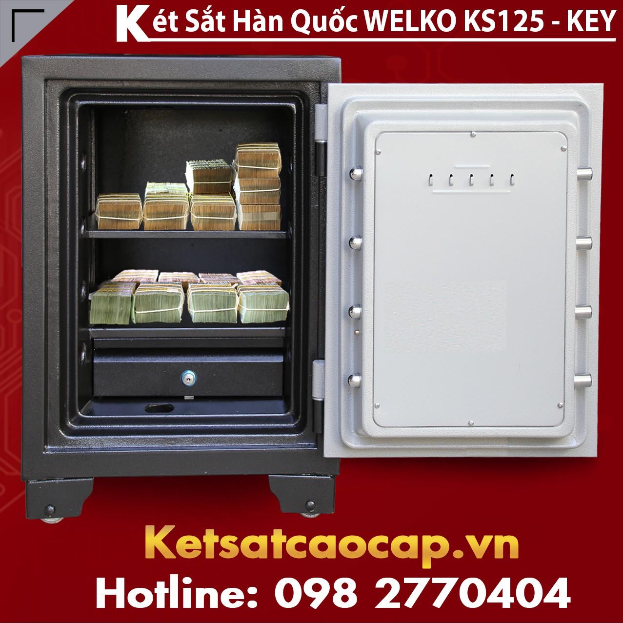 Két Sắt Bảo Mật KS125-KEY