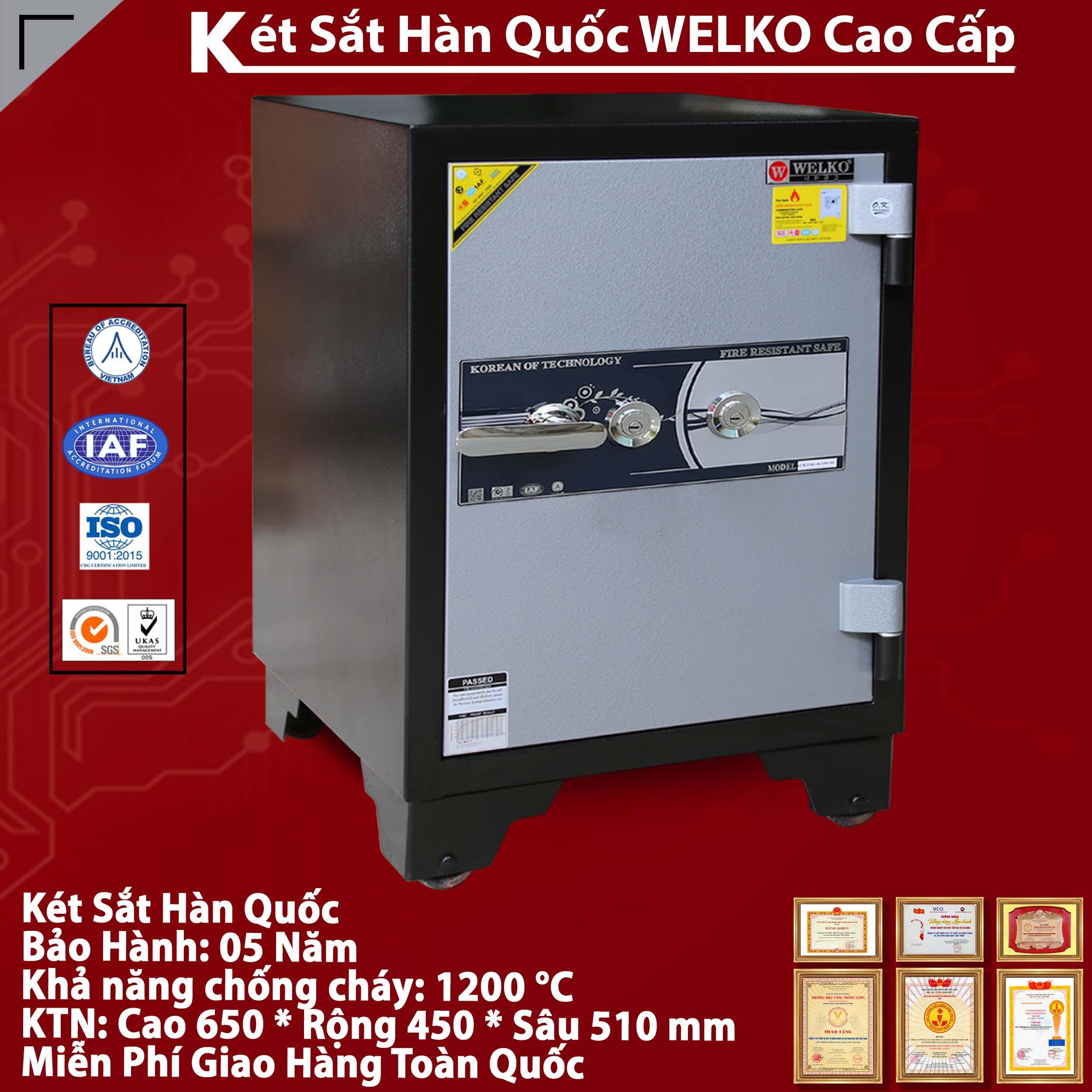Két Sắt Bảo Mật S650 - KEY