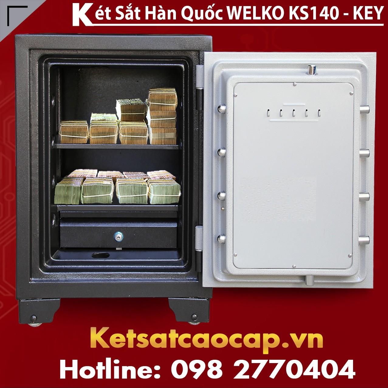 Két Sắt Bảo Mật KS140-KEY