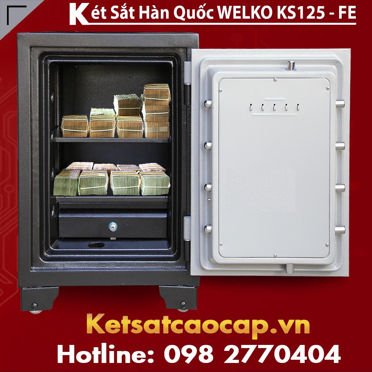 Két Sắt Vân Tay KS125 - FE