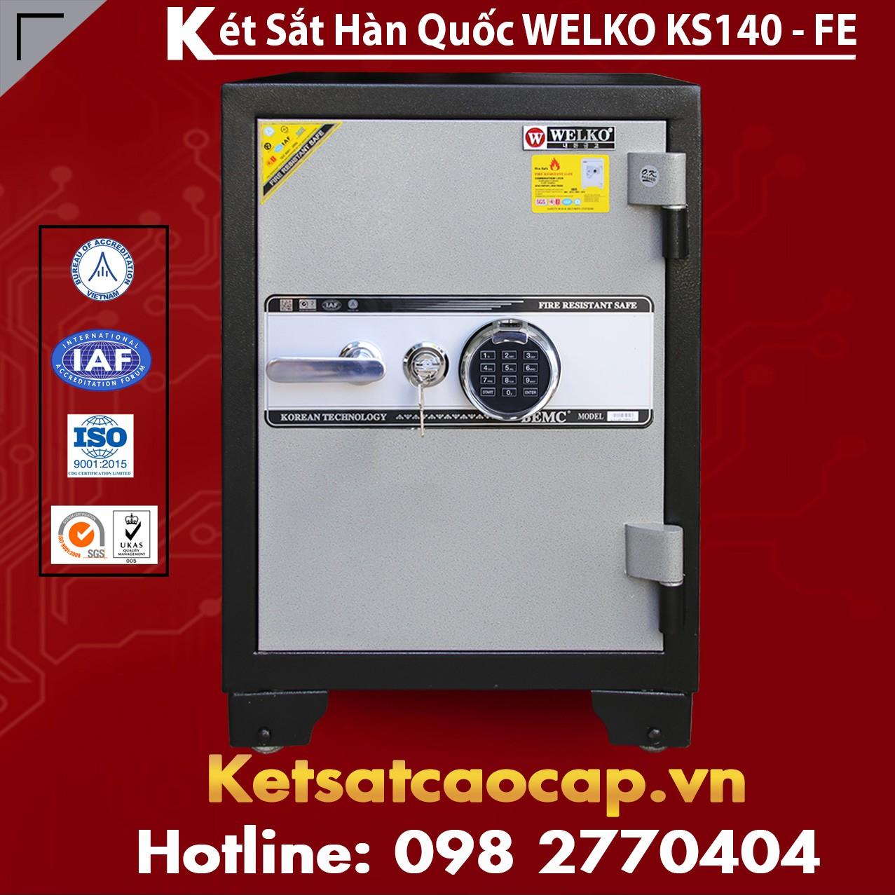 Két Sắt Vân Tay  KS140 - FE