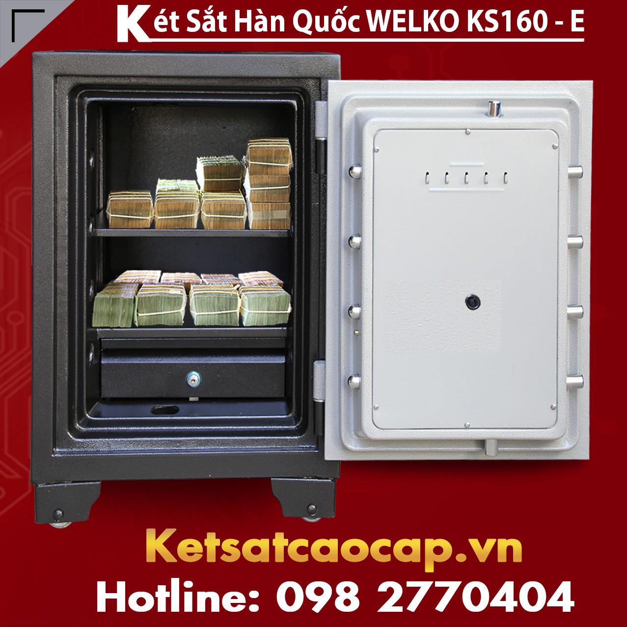 Két Sắt Văn Phòng KS160-E Gold