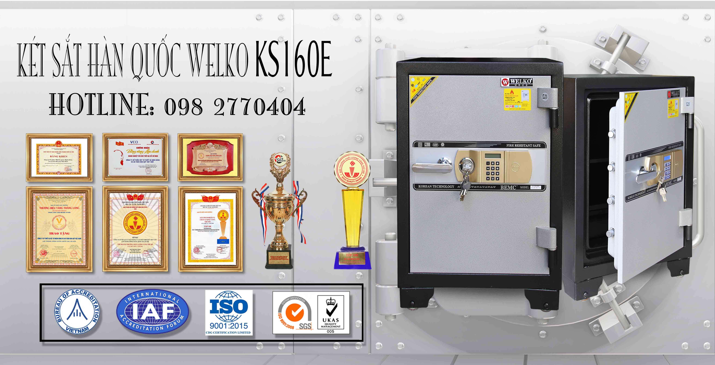 Két Sắt Văn Phòng KS160 - E Gold