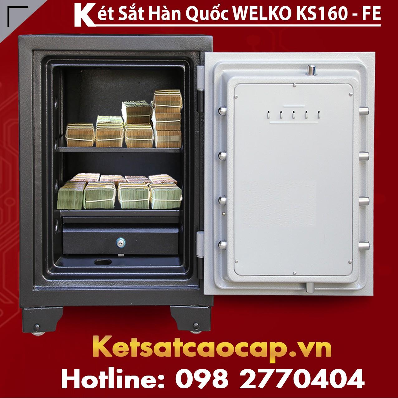 Két Sắt Vân Tay  KS160 - FE