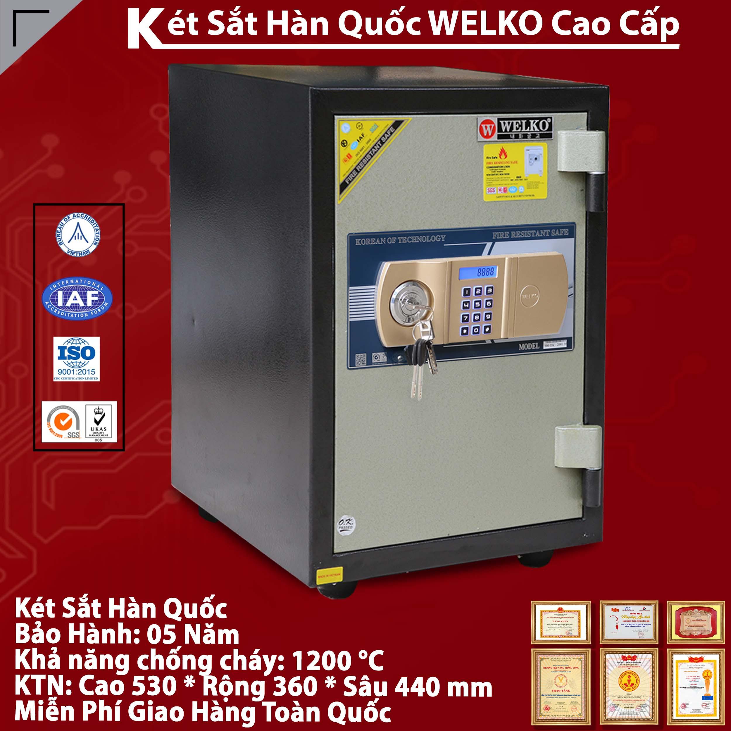 Két Sắt Văn Phòng S530 - E Gold