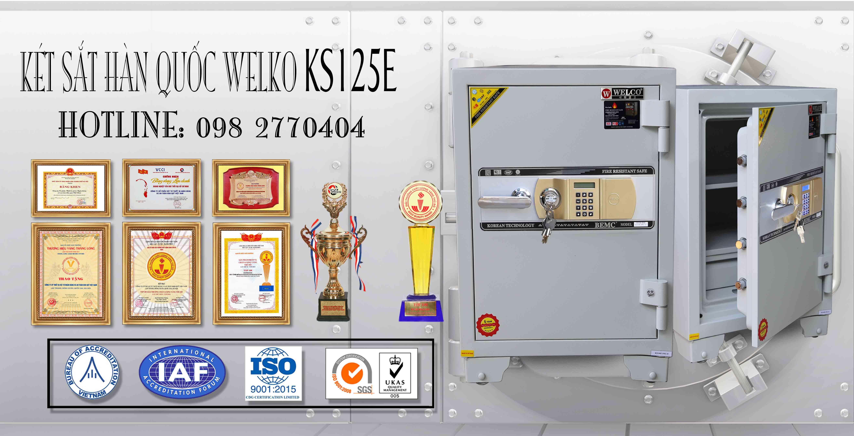hình ảnh sản phẩm két sắt văn phòng ks80d chống cháy khoá cơ khánh hoà