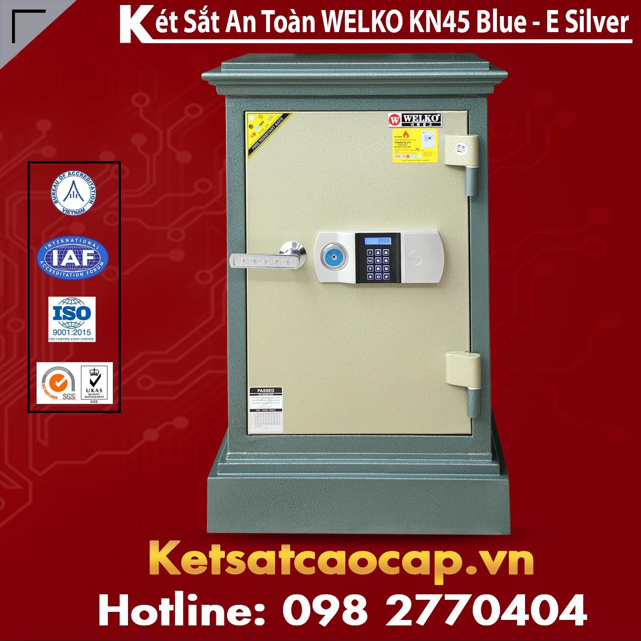 Két Sắt Đà Nẵng KN45 - E Silver