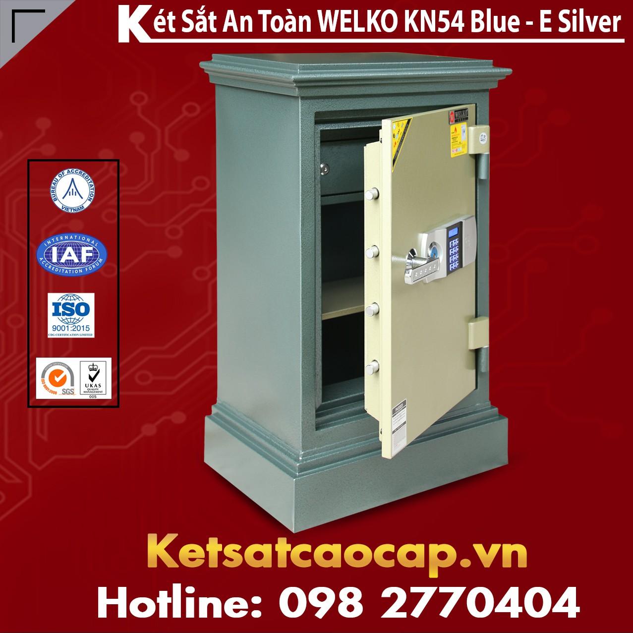 Két Sắt Đà Nẵng KN54 - E Silver
