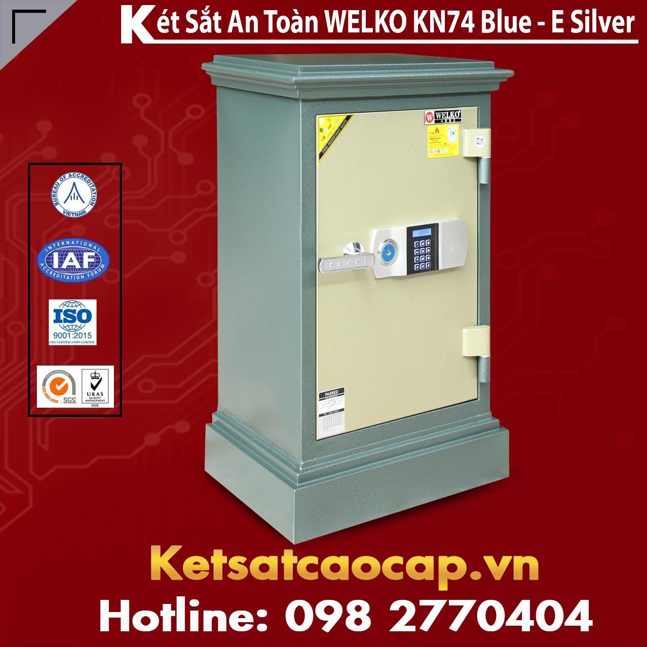 Két Sắt Đà Nẵng KN74 - E Silver