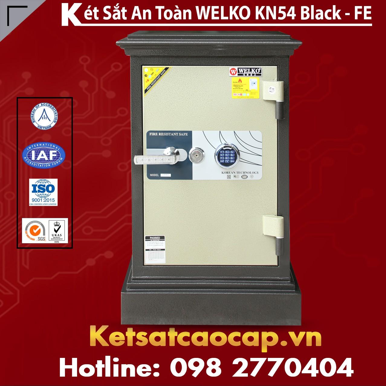 Két Sắt Nhật Bản KN54 Black - FE