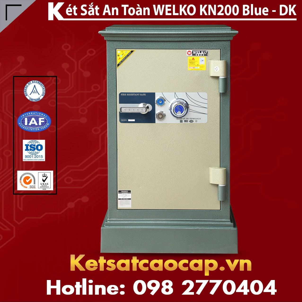 Két Sắt Thanh Hóa WELKO KN200 BLUE - DK