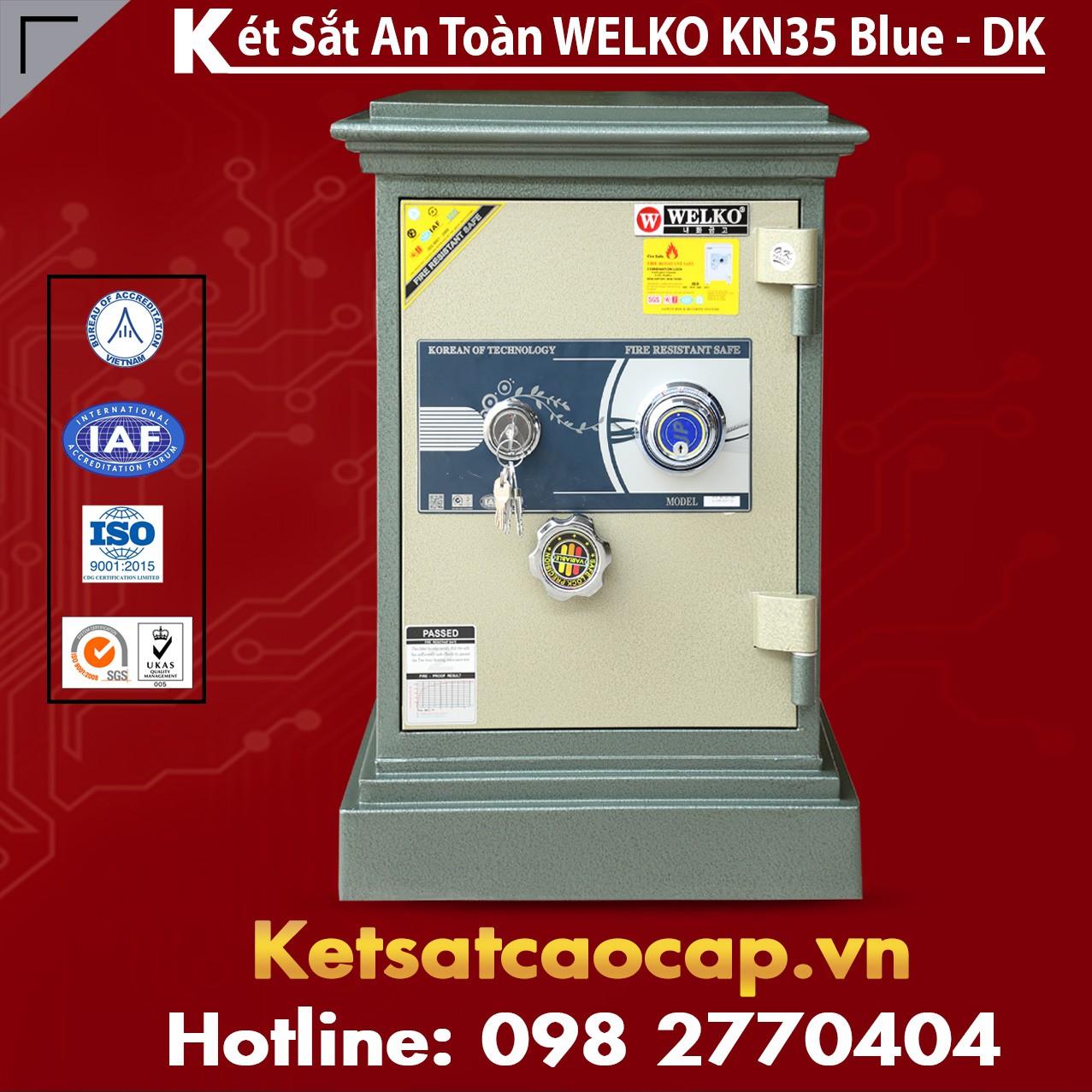 Két Sắt Thanh Hóa WELKO KN35 BLUE - DK