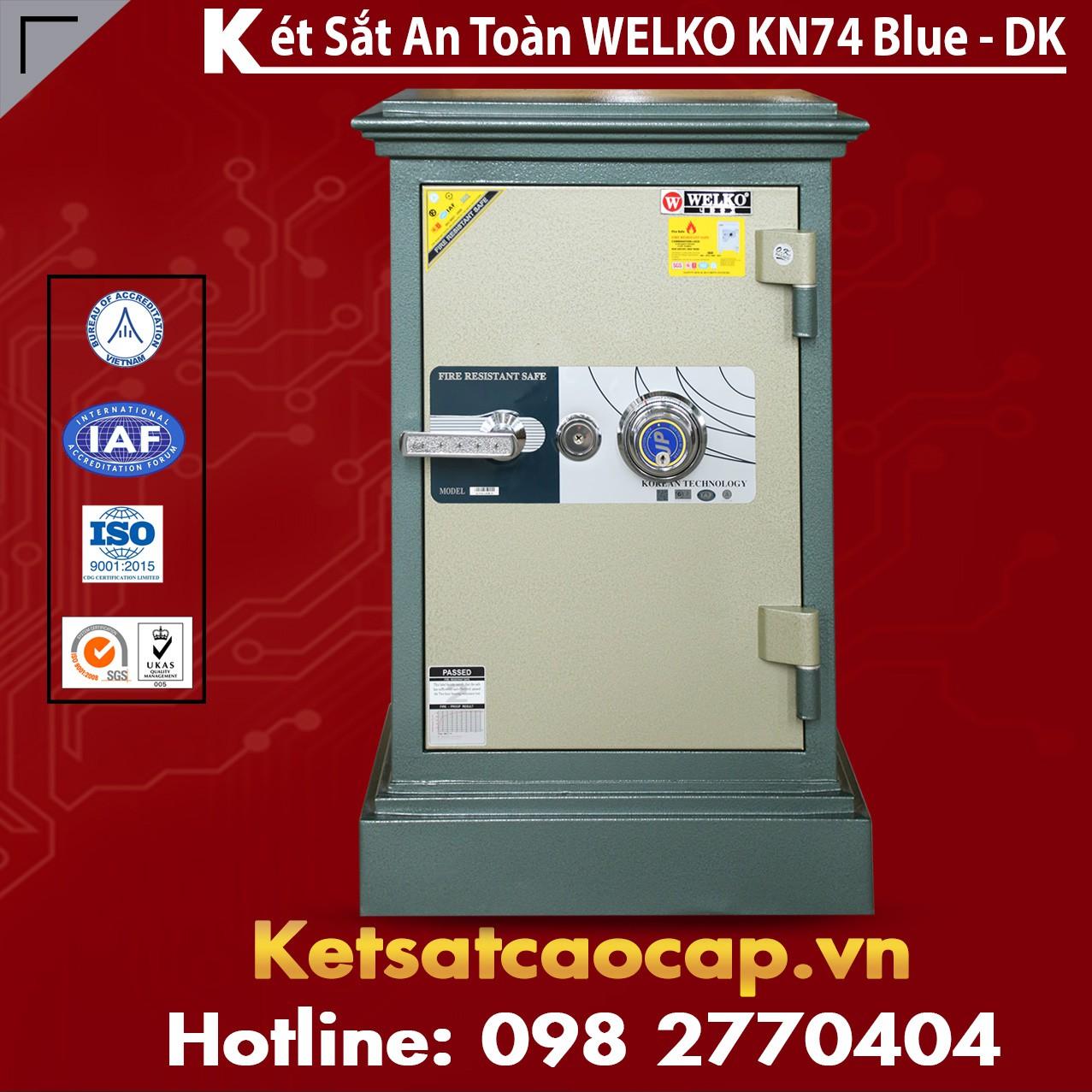 Két Sắt Thanh Hóa WELKO KN74 BLUE - DK