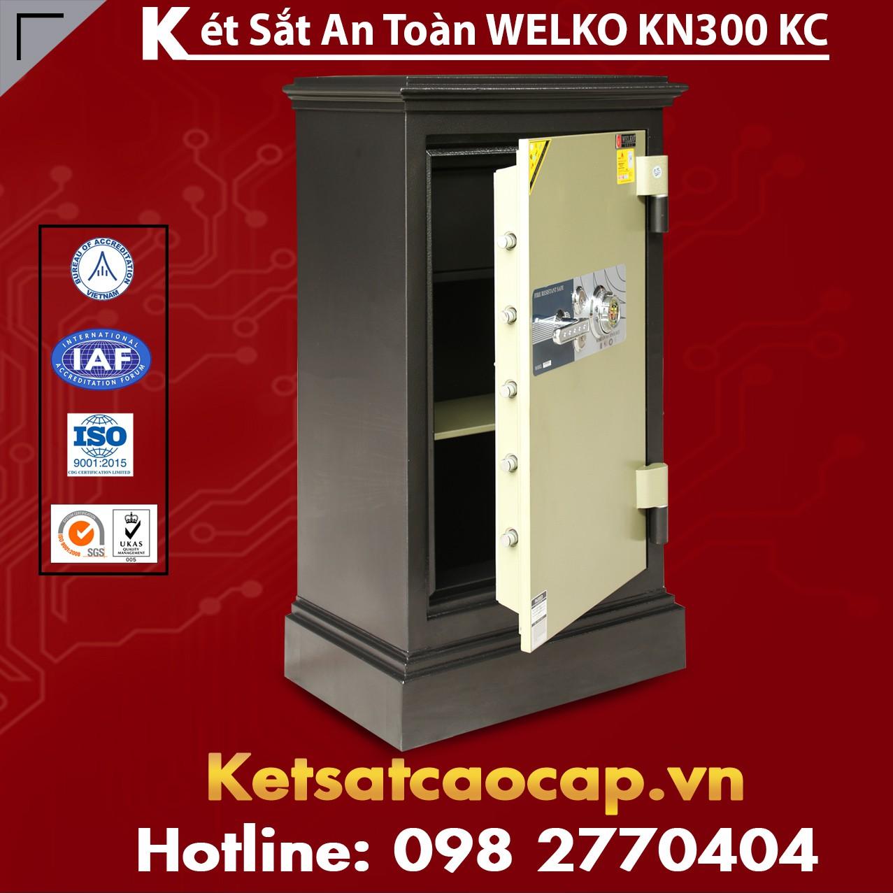Két Sắt Khoá Cơ WELKO KN300 Black - KC