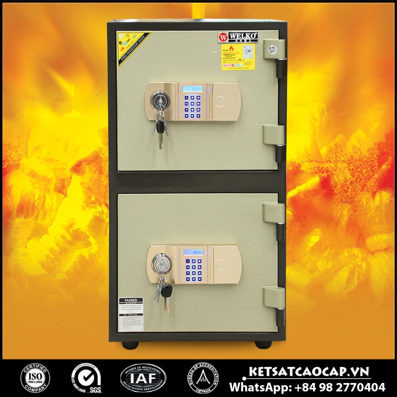 Két Sắt Hai Tầng WELKO LX800 T2 - E