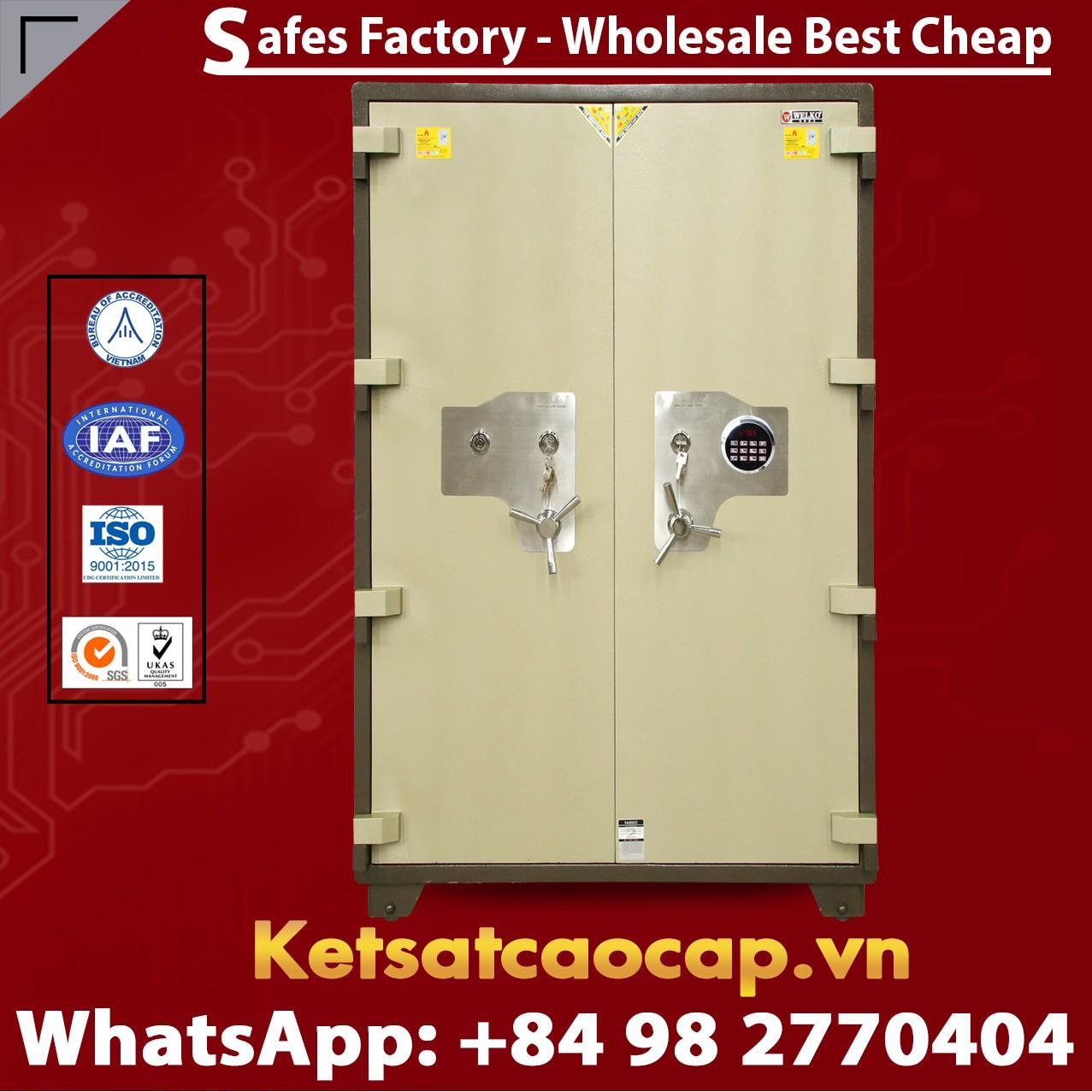 Luxury Safes Box WELKO US1650 LED Two Door Pro