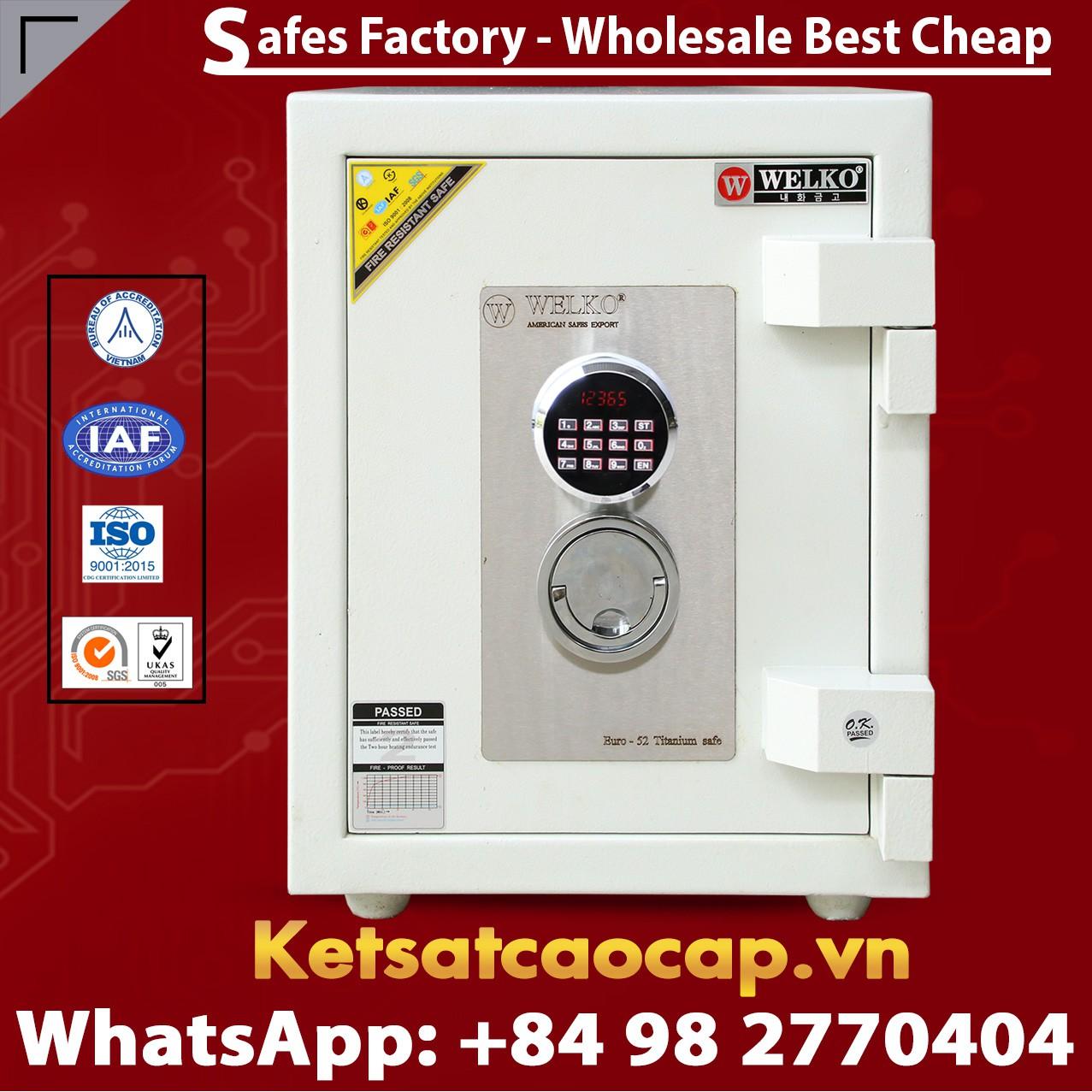Luxury Safes Box WELKO US520 LED
