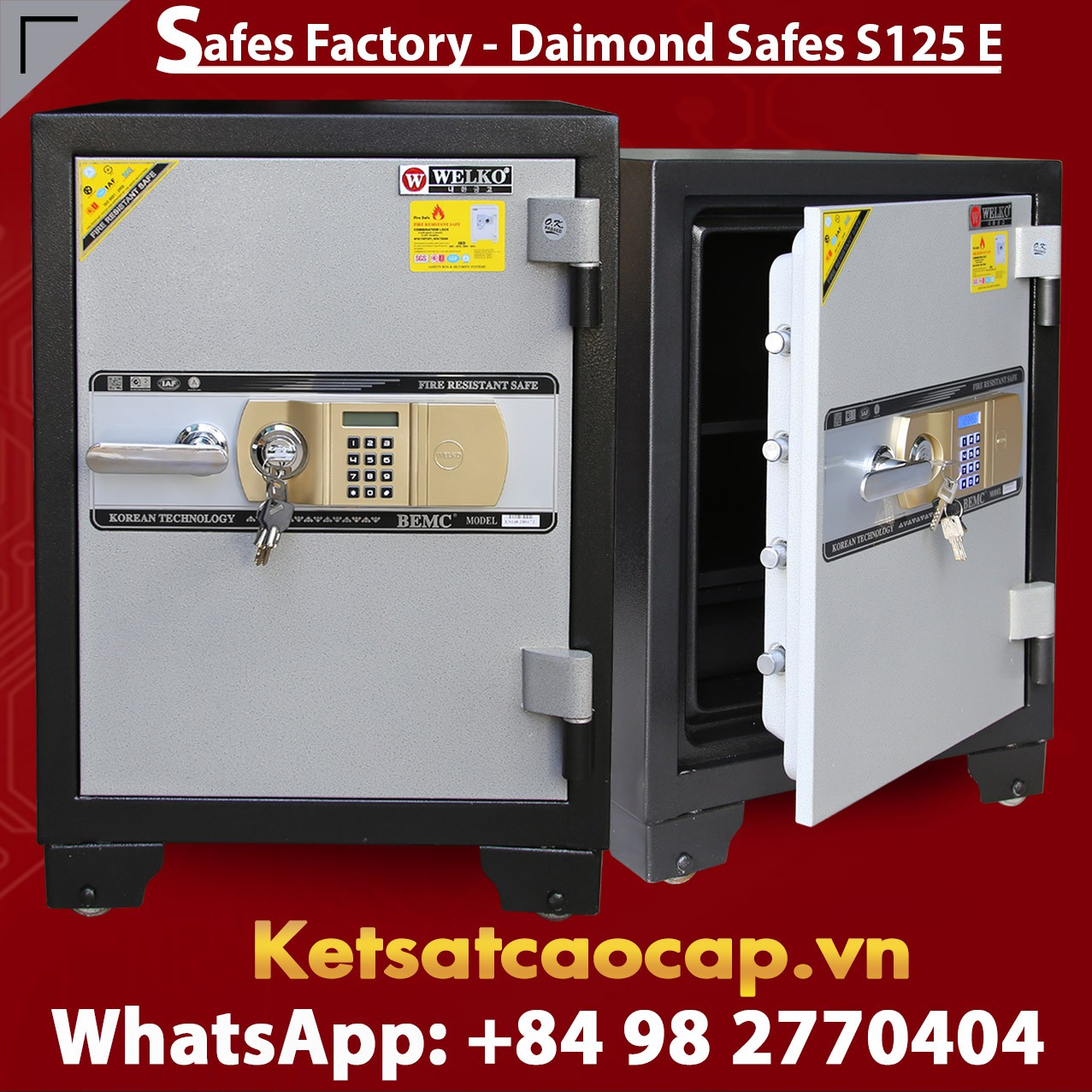 OFFICE SAFES S125 E