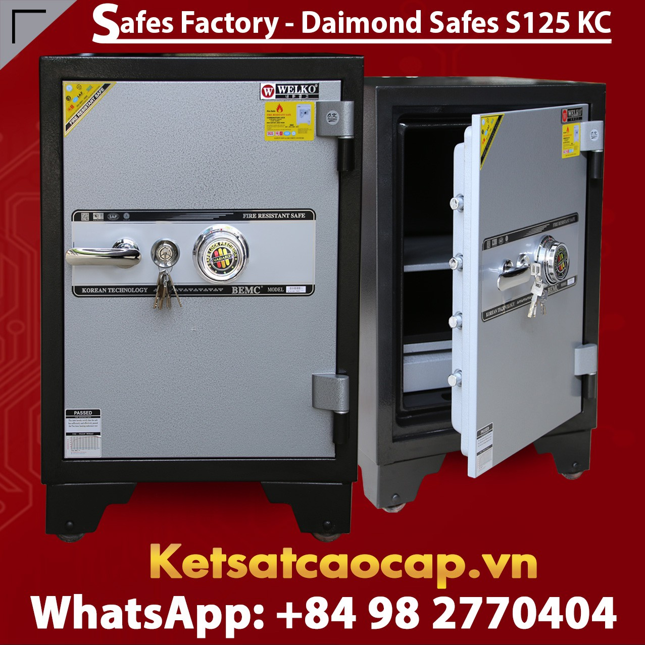 OFFICE SAFES KS125 KC