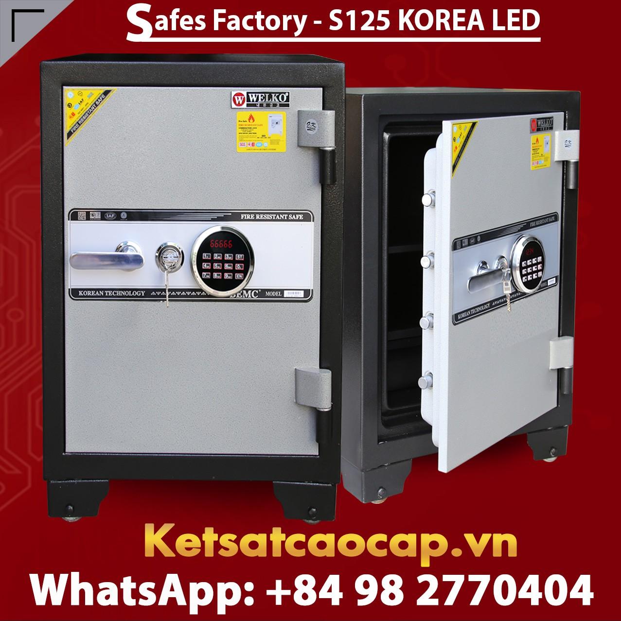 SECURITY STEEL SAFE S125 LED