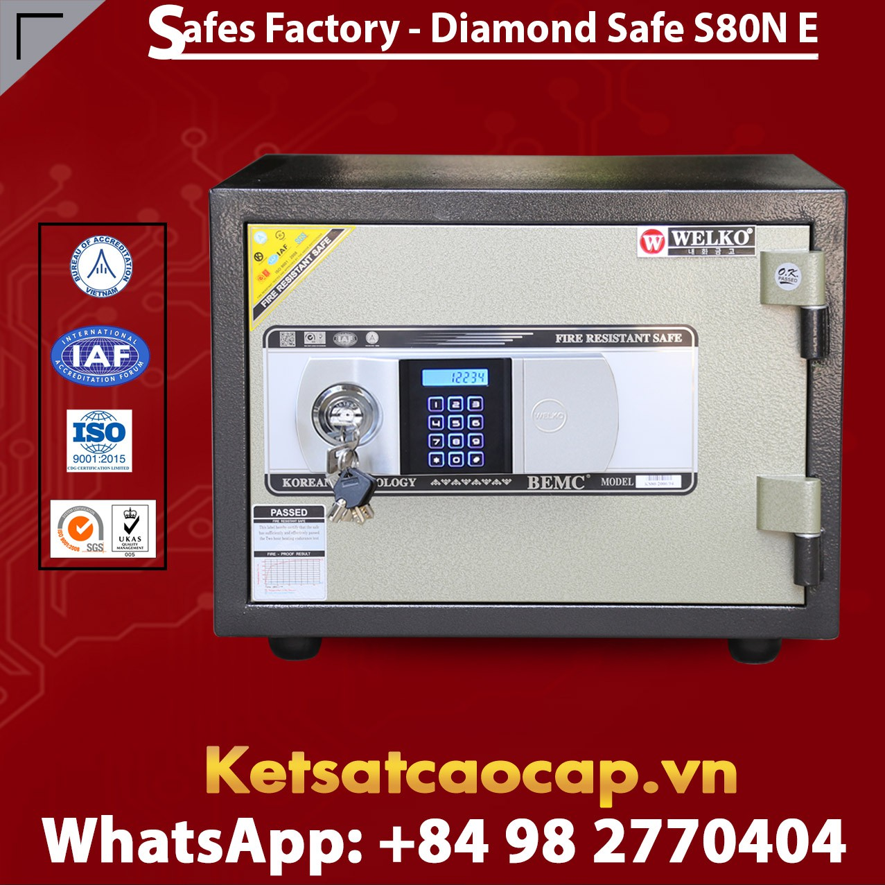 Home Safe Welko S80N GOLD E