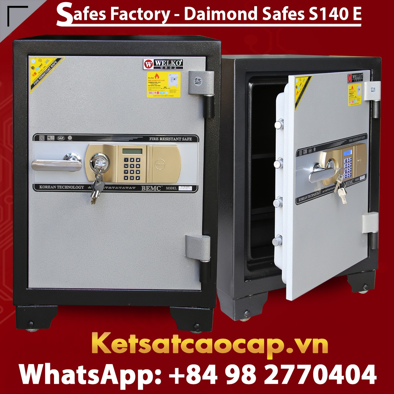 OFFICE SAFES S140 E