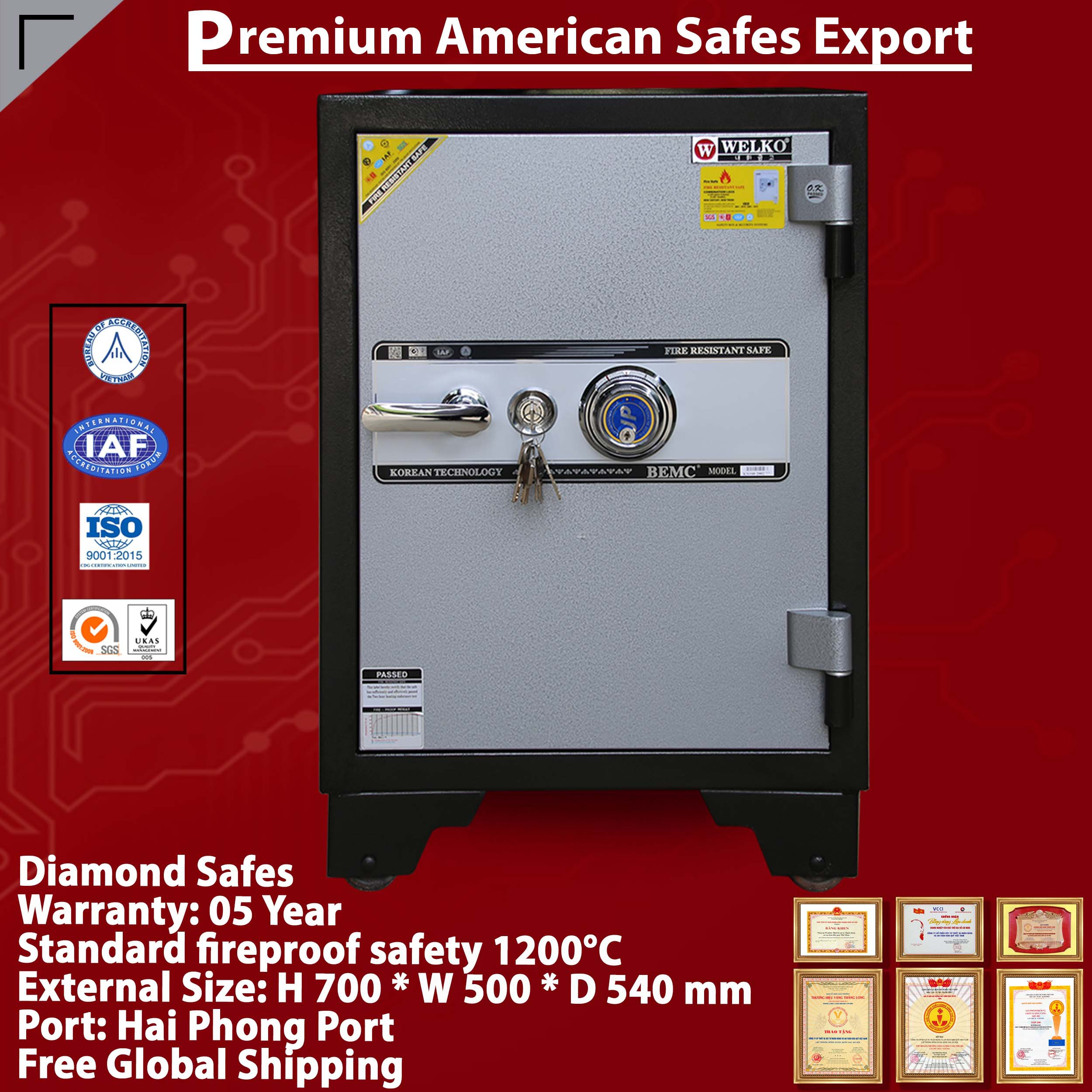 SECURITY STEEL SAFES