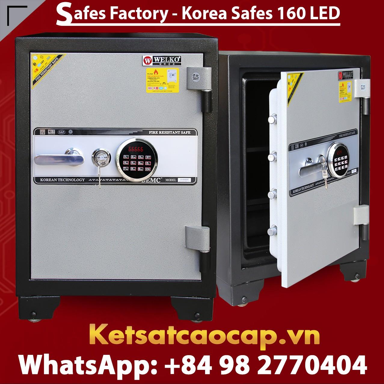 SECURITY STEEL SAFE S160 LED