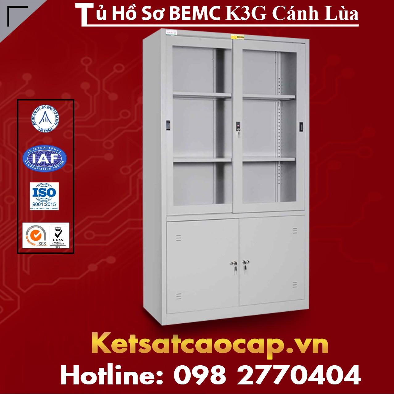 Tủ Hồ Sơ  BEMC K3G Cánh Lùa