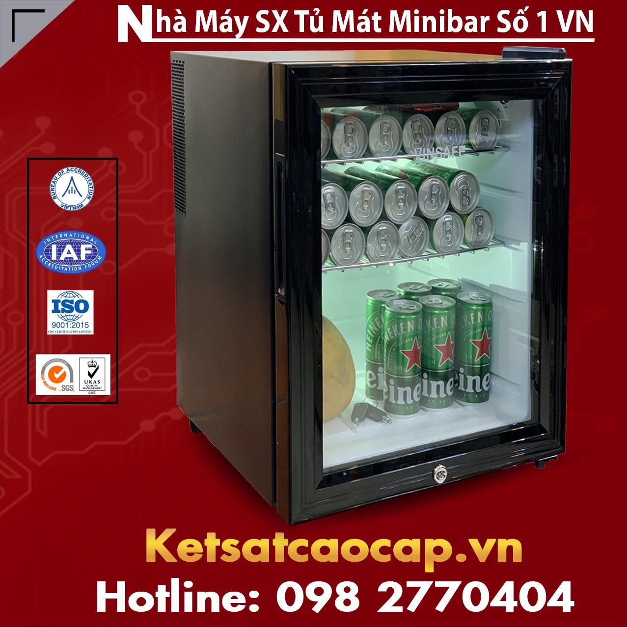 Tủ Mát MiniBar Cánh Kính MB40-CK
