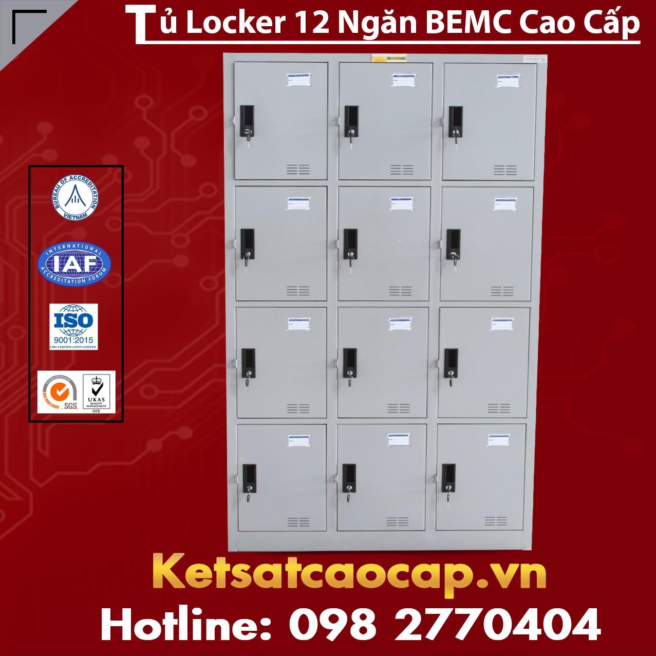 Tủ Locker 12 Ngăn BEMC