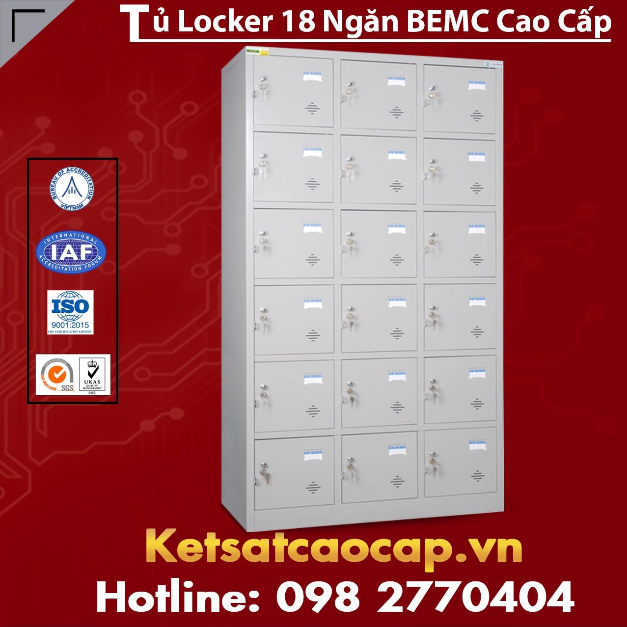 Tủ Locker 18 Ngăn BEMC