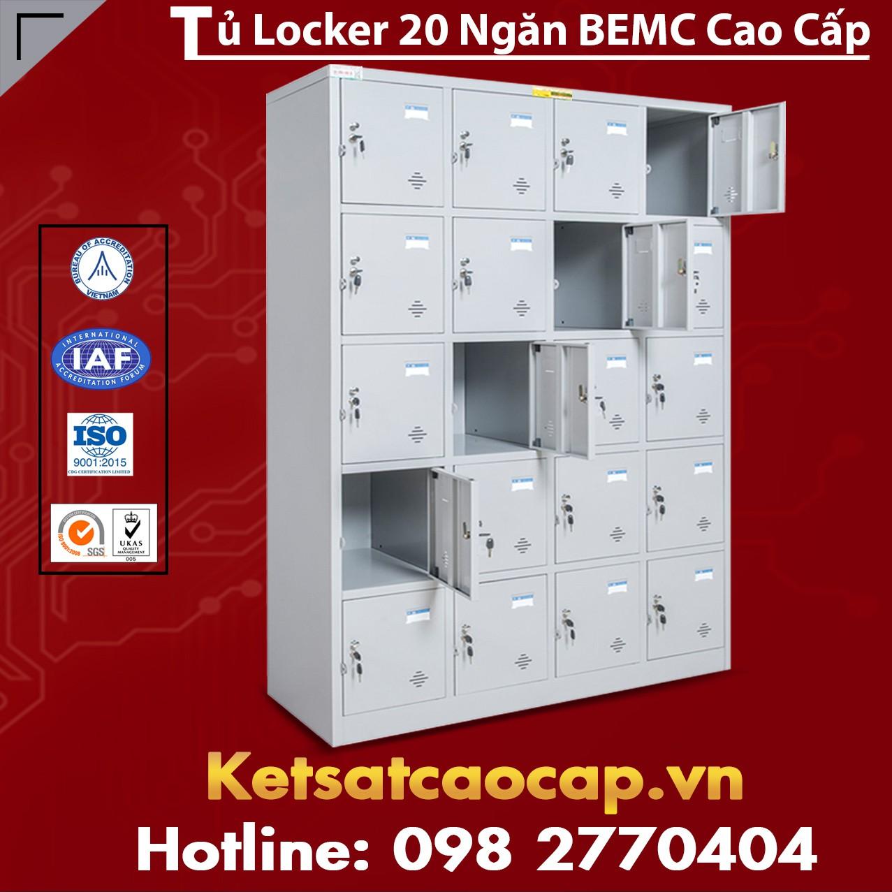 Tủ Locker 20 Ngăn BEMC